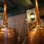 ニューミュンヘン - 入り口、入ったところでは、ビール造りが学習できます