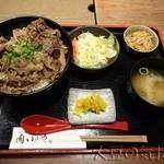 肉 いせや - 牛丼(¥780)