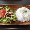 MK CAFE - 料理写真:特製タコライス(2014年5月来店)