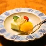 そば懐石 あずみ野 - 2014.5 水菓子