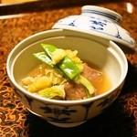 そば懐石 あずみ野 - 2014.5 煮物