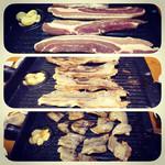 紅の豚 - サムギョプサル、今まで食べた中で1番うまかった!シソの葉と食べるのが最高!