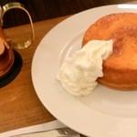 ワンドリップ - ふわもちパンケーキとアイスコーヒー