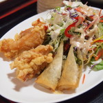 中華料理 DAIKEI - DAIKEIランチの揚げ物
