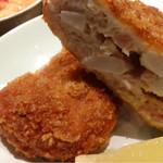 27271826 - 里芋と鳥肉のコロッケ