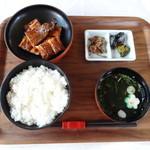うなぎの三河 - 長焼定食 2300円