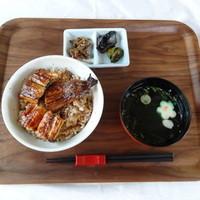 うなぎの三河 - うなぎ丼(竹) 1480円