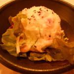 Yuimarushokudousangenchayaten - お通し ポテトサラダ