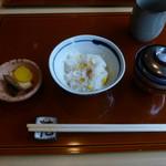 花隈 佐々木 - スイートコーンのご飯