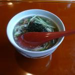 花隈 佐々木 - 蓋物:ひろうすの野菜キノコ餡かけ