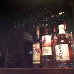 亜夢亭 - ウイスキーもあります