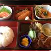 あん樹 - 料理写真:豊水御膳¥1050  松花堂弁当形式のランチです。この他にデザートとドリンク付き