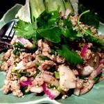 サワディー - ラオス料理ランチオフ会 ラープサラダ