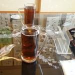 栄寿し - ウーロン茶