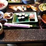 栄寿し - 上寿司定食 1700円