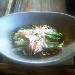 古里庵 - 水菜のお浸し