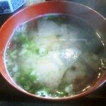 古里庵 - 自家製味噌を使用した味噌汁