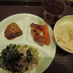 オーガニックハウス - 惣菜バイキング・178g(498円)