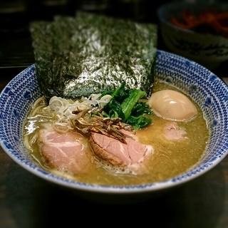 東京煮干屋本舗 - 特製ラーメン