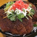ペリカンレスト - ソースカツ丼・大盛\980(税悦)