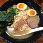 らーめん神鐵 - 味玉神鐵(細麺¥780)5/14/2014