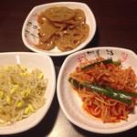 韓Cook - 最初にでてくるおつまみ3皿