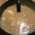 27295849 - 濃厚魚介つけ麺(スープ)