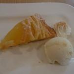 けやき - デザートセット(450円)のアップルパイ