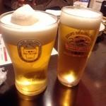 27297211 - 生ビールとフローズン生!