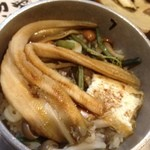 Kiguradiya - 釜めし・穴子¥880