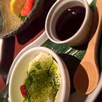 27298764 - 豆腐の…デザート!黒蜜添え