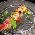 恵び寿 Y邸 - 【本日の鮮魚のカルパッチョ~ガーデンスタイル~】柚子のヴィネグレットが利いた定番の前菜にアクセントを