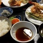 27299670 - 天ぷら定食(ランチメニュー)