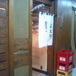 半上野 - この暖簾を潜らないことには始まらない
