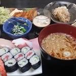 はまや海鮮三味 - 料理写真:松セット1
