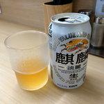 ラーメン いつき - 発泡酒190円