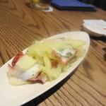 ピッツェリア&トラットリア マーノエマーノ - 蛸のマリネ 500円くらい