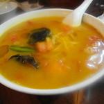 李園 - 料理写真:名物のトマトタンタン