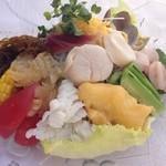 華空間 - 海鮮冷麺 1300円