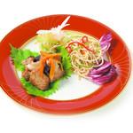 純「上海的」2種精進冷菜盛り合せ