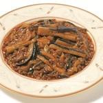 茄子の上海風味噌炒め