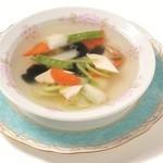 五目野菜のスープ