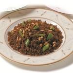 中国伝統黒醤油の焼き飯