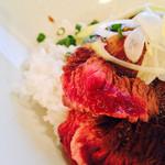 古民家バルNOVO - 牛ハラミ丼