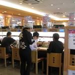 無添くら寿司 - 少しだけカウンター席が有ります。