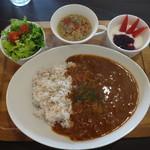 ポートカフェ - 船上のハヤシランチ(ドリンク+季節のデザート)1,290円