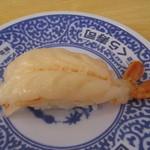無添くら寿司 - 赤えび一貫♪