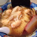 たんたん亭 - 海老ワンタン麺