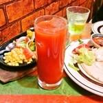 EL SOL - サングリータ 630円(テキーラのトマトジュース割り)