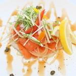 レストランノースキング - 料理写真:スモークサーモン